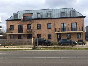 Bouwbedrijf Van Gastel nv, nieuwbouw appartementen Turnhoutsebaan 446 te Schilde