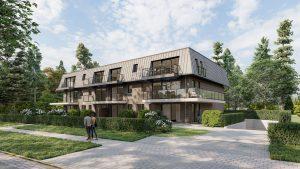 Bouwbedrijf Van Gastel nv nieuwbouwproject De Pelicaen te Schoten