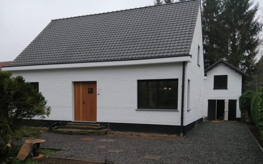 Bouwbedrijf Van Gastel nv, renovatieproject Oude Baan te Schilde