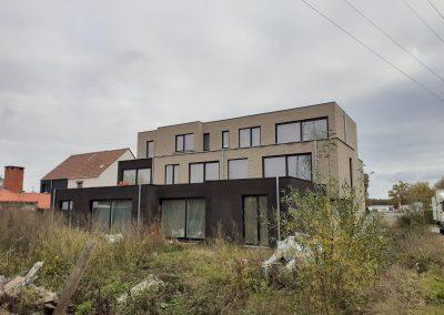Bouwbedrijf Van Gastel nv, Nieuwbouwproject Dendermondse Steenweg 201 te Sint-Niklaas
