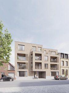 Bouwbedrijf Van Gastel nv, Nieuwbouwproject Van Vaerenberghstraat 6 te Berchem 2600