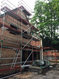 Bouwbedrijf Van Gastel nv, renovatieproject woning Kneuterlei 8 te Schoten
